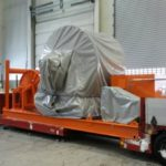 Januar 2014: <br>  Forsendelse av Fuelwinch fra PGS som har vært til oppgradering/overhaling hos LOM AS.