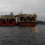 Ocean Explorer kom inn i opplag. og LOM AS har vakt og ettersyn samt serviceoppdrag på denne. Vi har det samme på Nordic Explorer som ligger innerst.